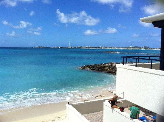 Flamingo Beach Resort : A View From Our Studio Balcony