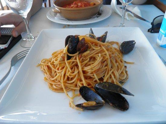 Ristorante Pizzeria da Tonino : spaghetti ai frutti di mare