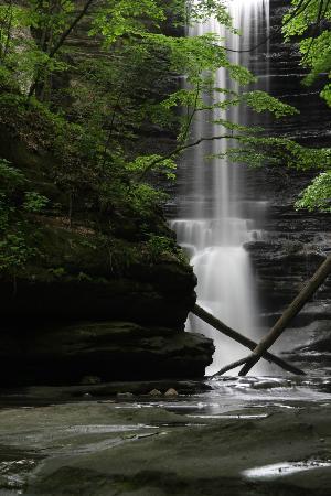 Utica, IL: Lake Falls, Matthiessen State Park