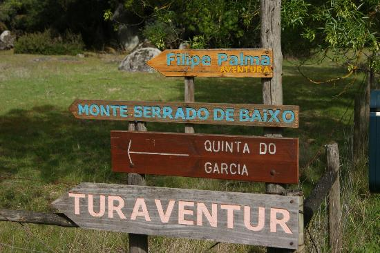 Monte do Serrado de Baixo: Entrance