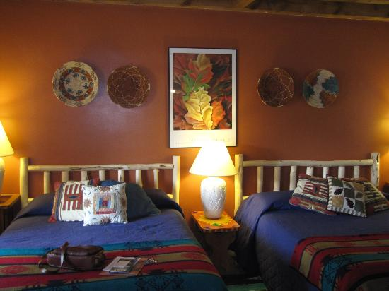 Inn on the Rio, Taos, NM  Room interior