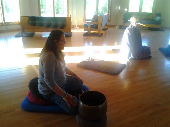 Willard, WI: Meditation hall