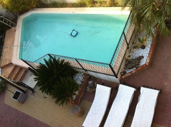 Logis Hôtel de la Clape : piscine