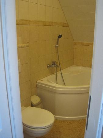 Pension Amadeus: Bathroom