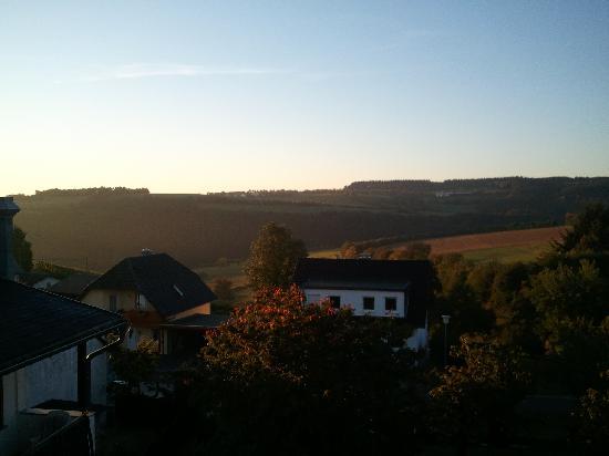 Gasthaus Weingut Stahl : Blick vom Balkon