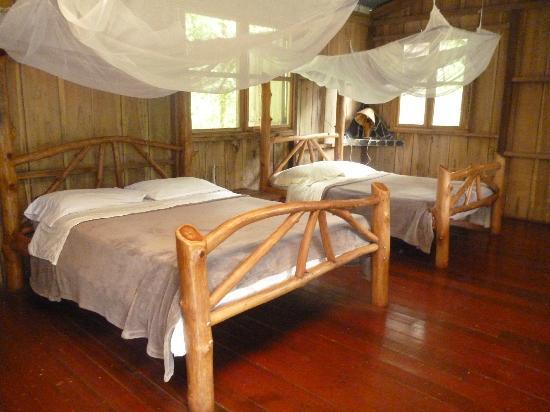 La Carolina Lodge : Une des chambres de la cabane familiale