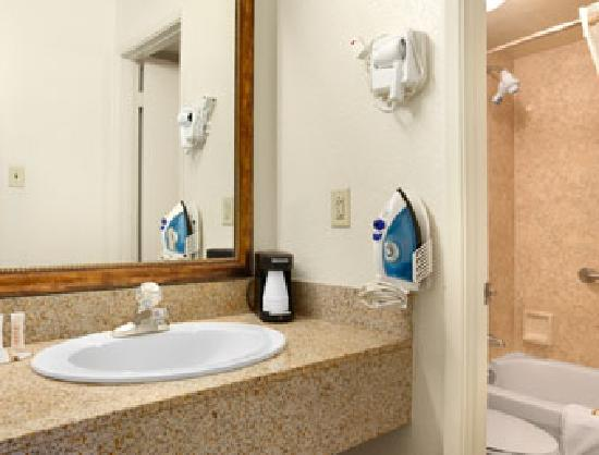 Howard Johnson Mesa Gilbert: HoJo Bathroom