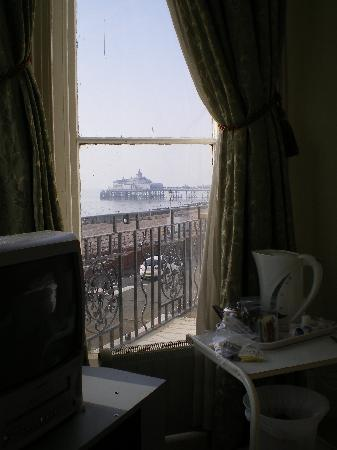 Glastonbury Hotel: View from coffee table in Room 109