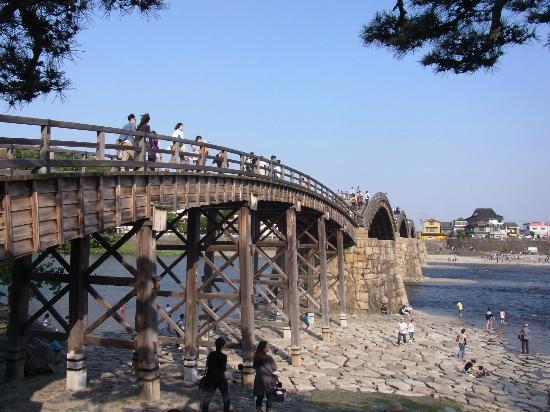 Pont de Kintaikyo : 岩国の錦帯橋