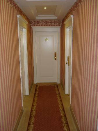 Zanhotel Regina : Corridor