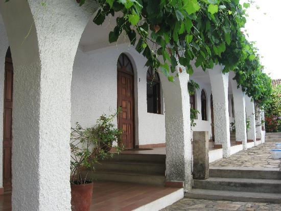 Hotel La Posada del Sol : first floor corridor