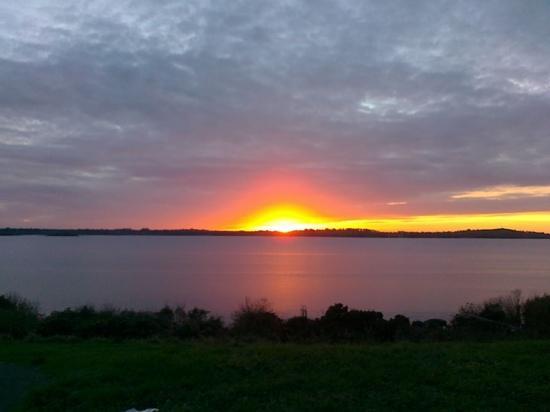 dusk at Clontarf