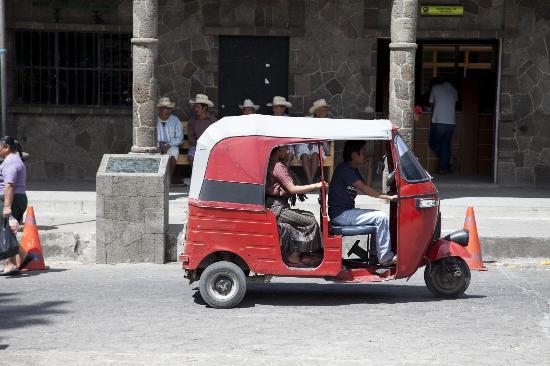 Mikaso Hotel Resto: Transportation in San Pedro