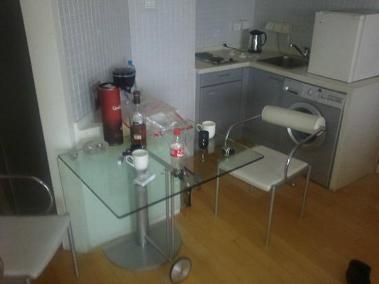 Taiyue Suites Hotel: Кухня