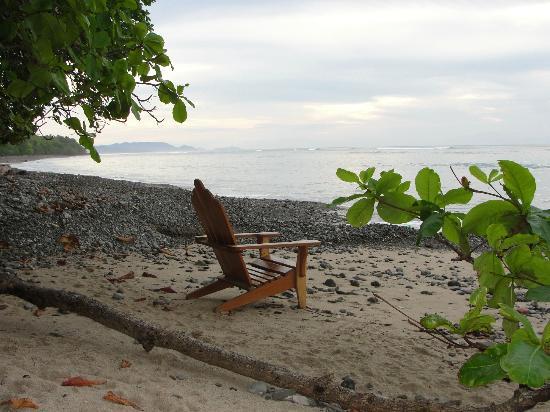 The beach at los Caracoles