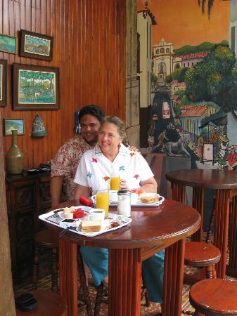 La Posada del Doctor: We enjoyed a good breakfast.
