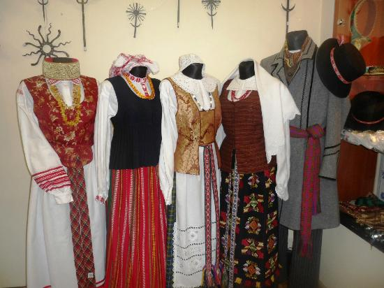 Ruta Zalioji Traditional Costumes