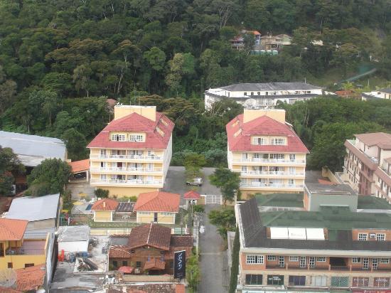 Clarion Itaipava: Vista do apartamento