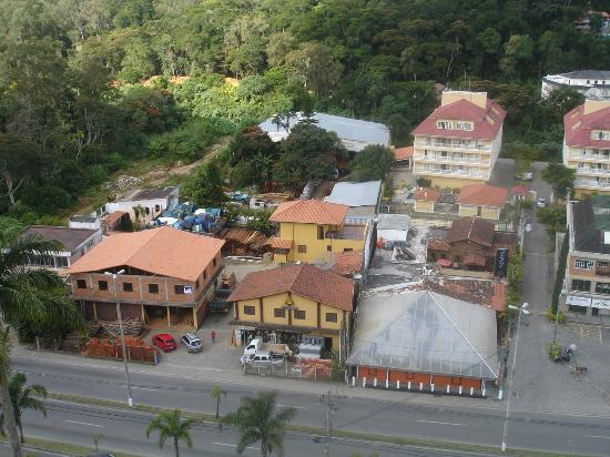 Granja Brasil Resort : Vista do apartamento