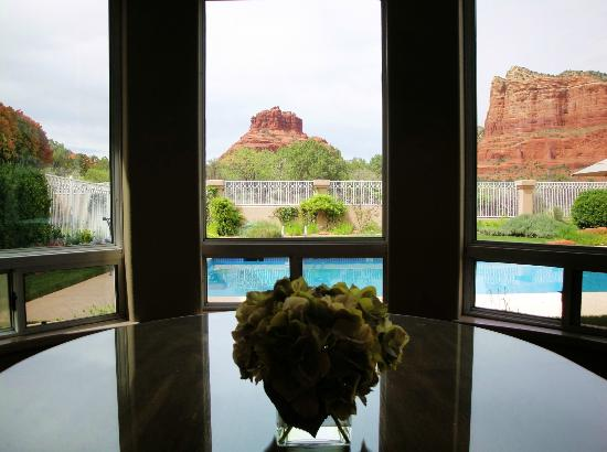 Canyon Villa Bed and Breakfast Inn of Sedona : View from breakfast
