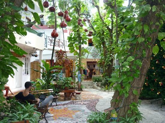 إيل سيكريتو هوتل: Courtyard