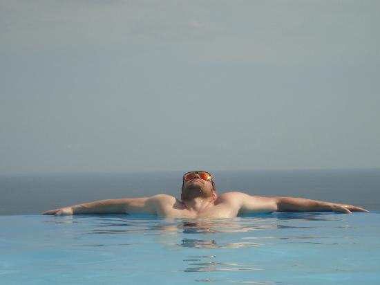 Playa San Miguel, Costa Rica: awesome infinity pool