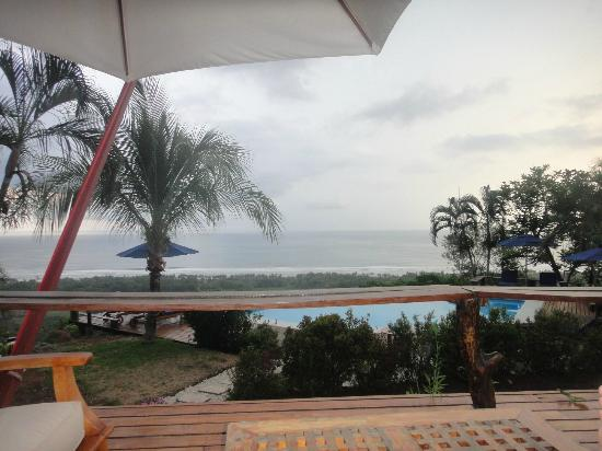 Cristal Azul: view from the rancho couch
