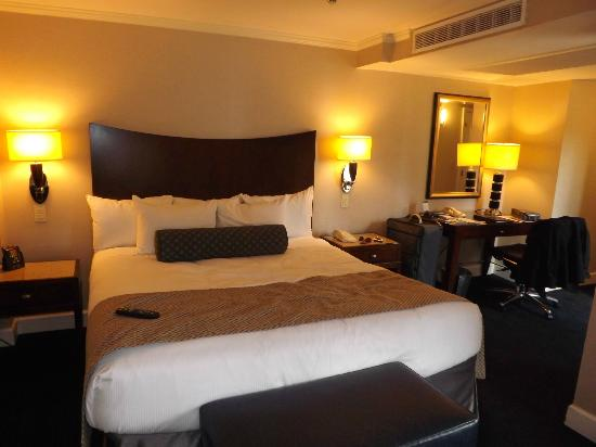 Hilton New York Grand Central : Comfiest bed in the world!