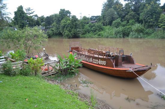 Villa San Pee-Seua: The boat