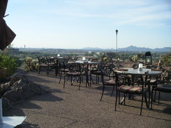 Patio At Top Of The Rock Restaurant Picture Of Phoenix Marriott