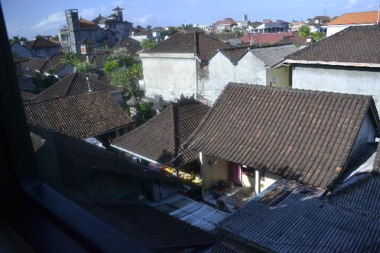 Guest House Matahari: From the window of the room