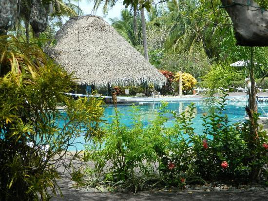 Hotel Villas Playa Samara: Pool with swim up bar! AMAZING