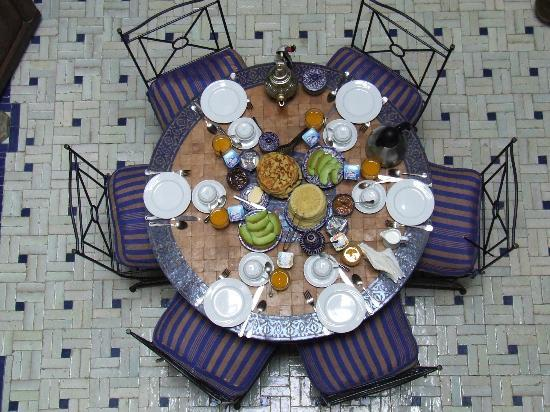 Dar El Hana : Breakfast
