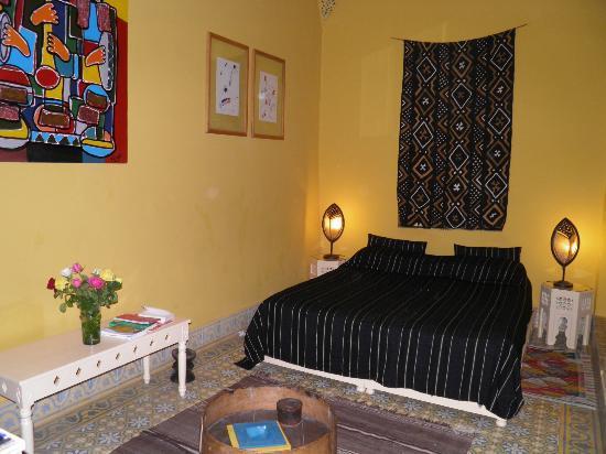 Ryad El Borj: chambre