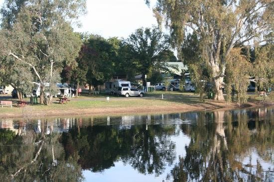 Rutherglen Caravan and Tourist Park: A nice place to put down our head