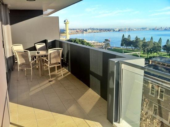 Chifley Executive Suites: the balcony view