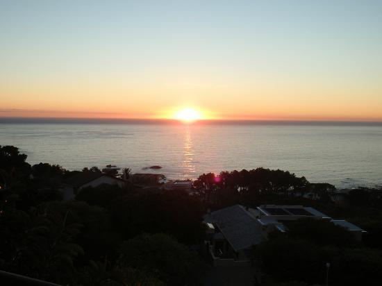Atlanticview Cape Town Boutique Hotel: Beautiful Sunset