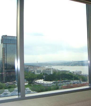 Gezi Hotel Bosphorus: Vew from room in 10th  floor