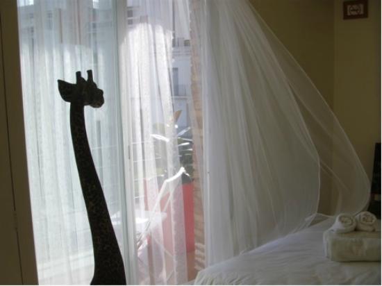 Hotel Alexandra: Une chambre