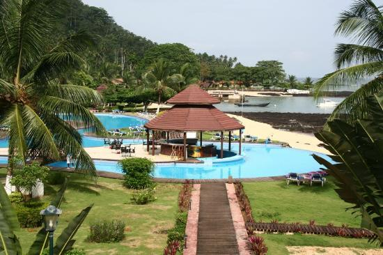 Ilheu Das Rolas, Sao Tome and Principe: pool