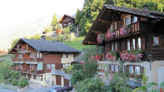 Гриндельвальд, Швейцария: Chalets de madera