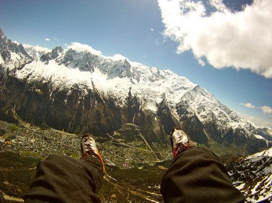 Fly Chamonix - Tandem Paragliding: Flying high above the world
