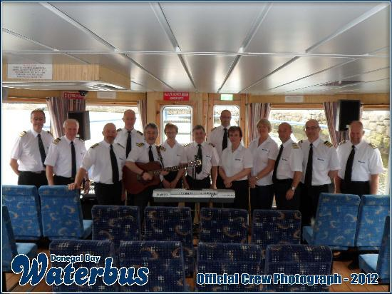 Donegal Town, Irlandia: The Donegal Bay Waterbus Crew 2012