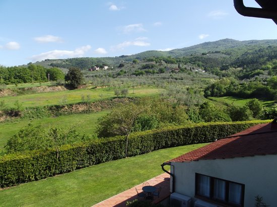Antico Borgo Poggitazzi: View from lounge