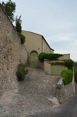 Arqua Petrarca, Itália: per le vie