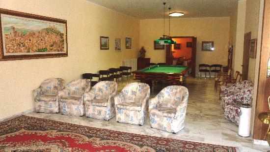 Hotel Reali: Sala biliardo