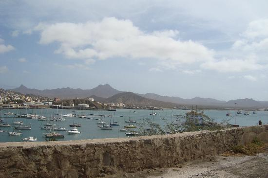 Mimagui Residencial  Cape Verde   San Vicente: View from just outside the hotel gate:)..