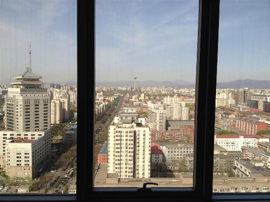 อินเตอร์คอนติเนนทัล ปักกิ่ง ไฟแนนเชี่ยล สตรีท: View from room