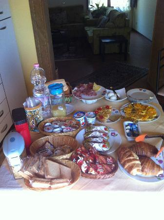B&B Bibirria : Petit déjeuner de qualité