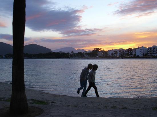 Hostal Calma: Strand Port Alcudia